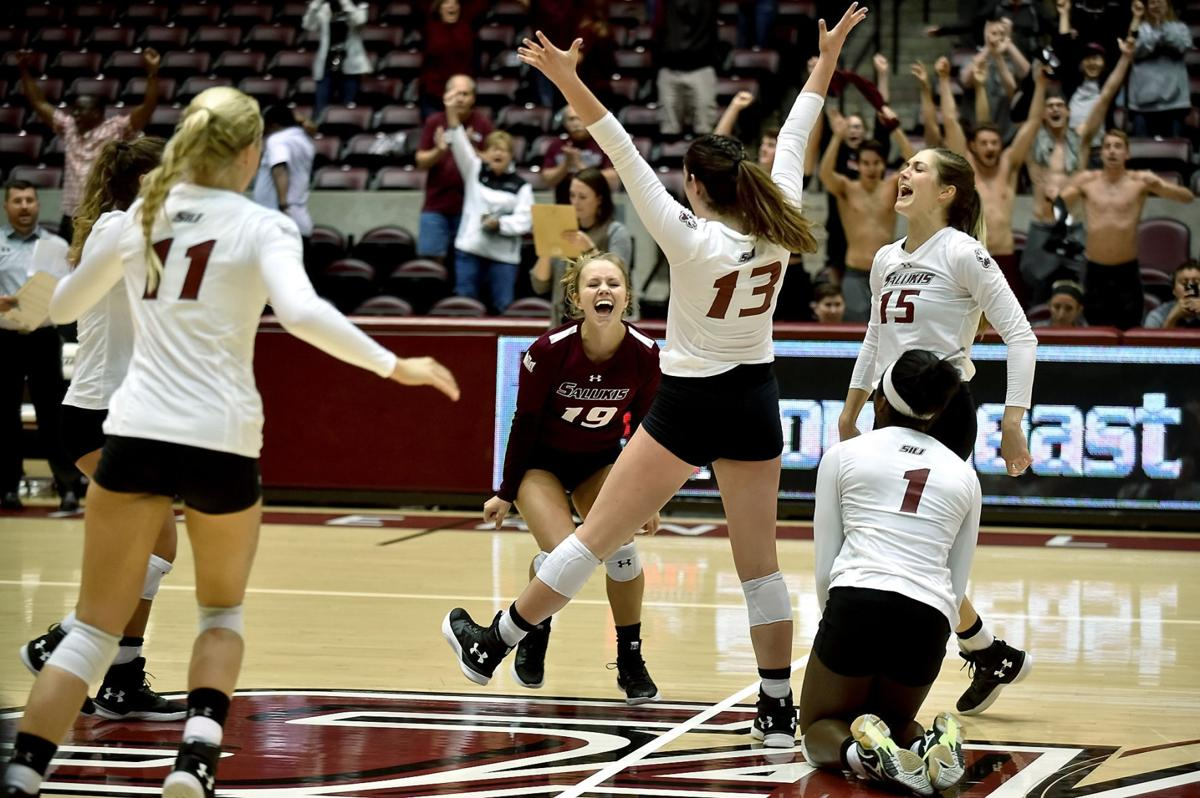 SIU volleyball defeats Southeast Missouri State