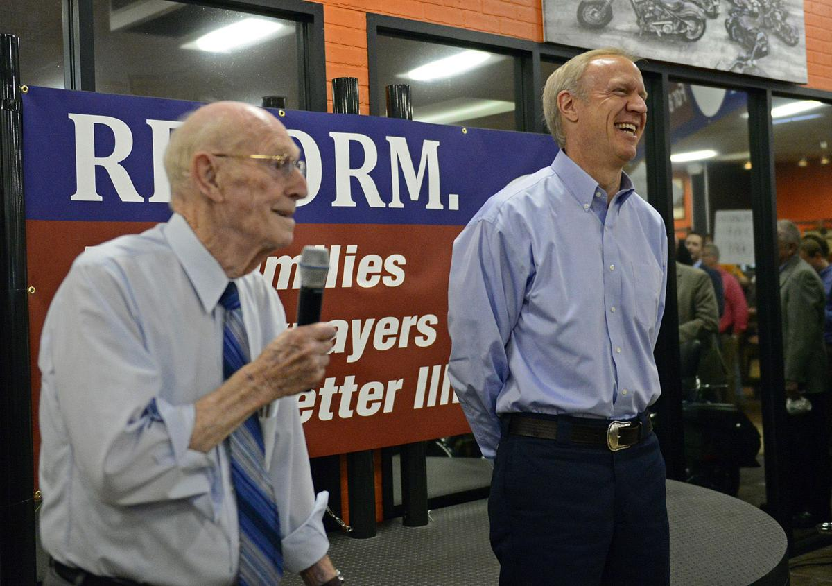 Rauner and Butler file