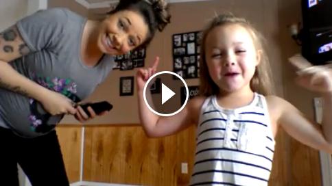 Viral dance video