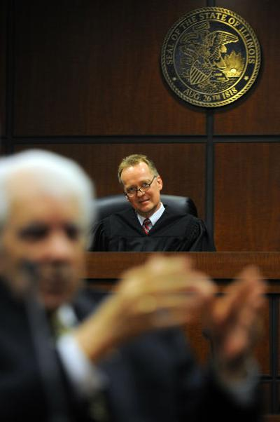 Judge Phillip Palmer steps down as presiding judge for the First