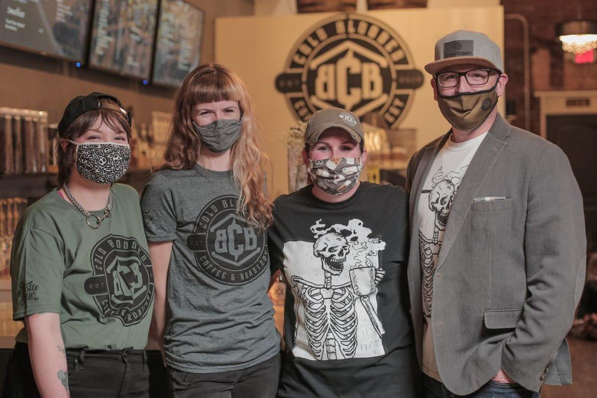 Cold Blooded Coffee & Roastery owners