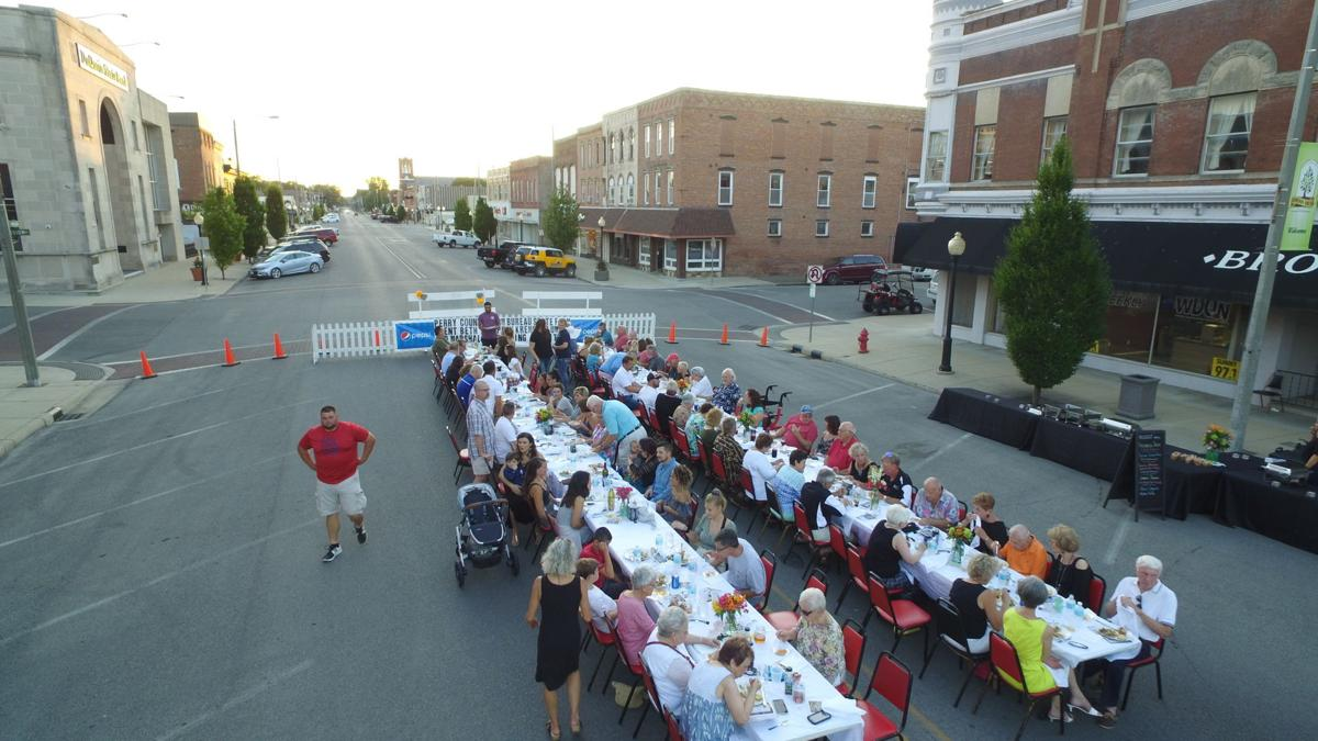 Social Seen: Du Quoin Chamber Farm to Table dinner