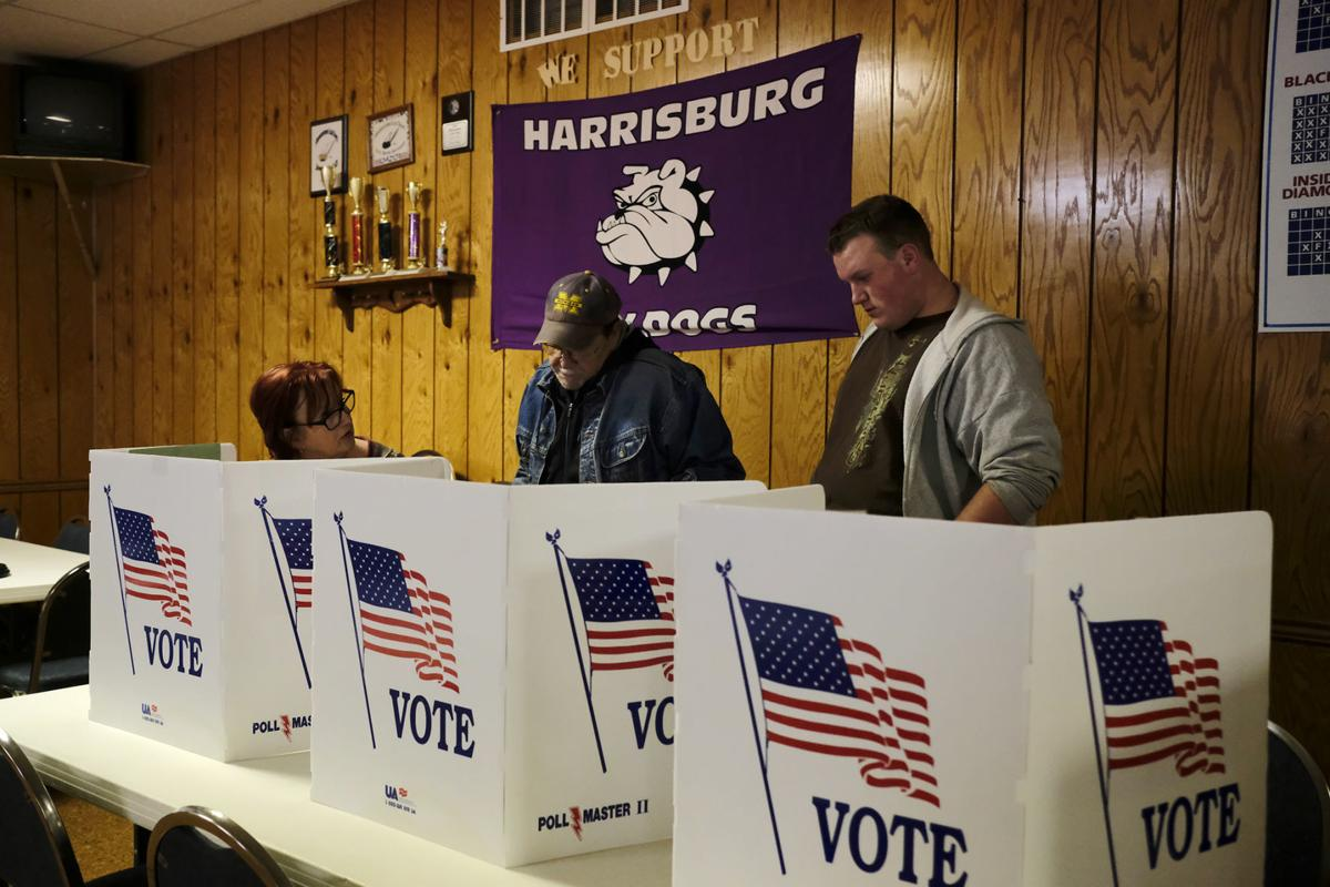 Ballots set for june 5 democratic and republican primary elections.