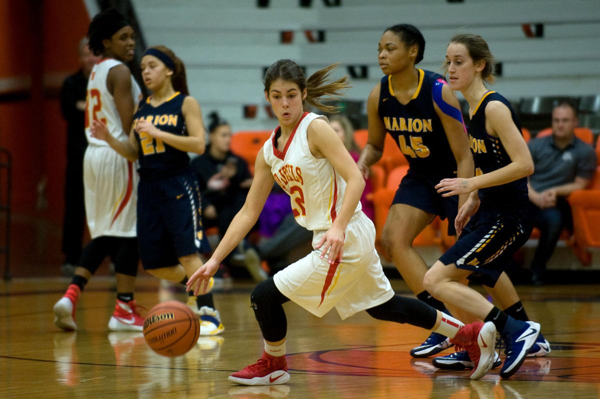 Class 3A Regional Girls Basketball Murphysboro Vs. Marion