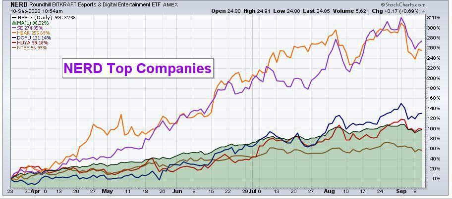 NERD top companies