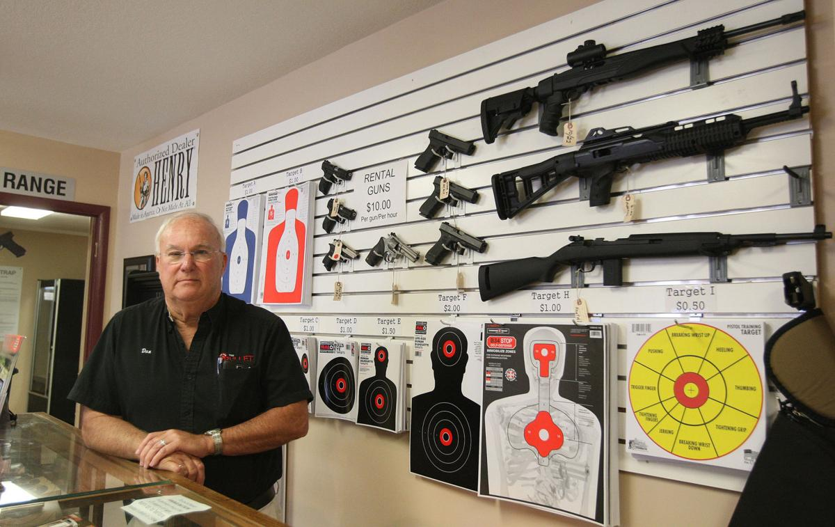 Dan Cooley is the owner of The Bullet Trap indoor rifle/pistol shooting  range in Macon. The General Assembly is scheduled to consider a pair of gun  control ...