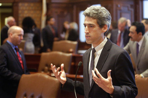 State Sen. Biss says he's running for Illinois governor