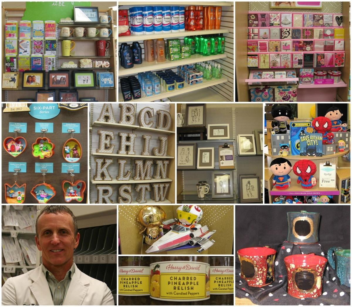 herrin drug store collage