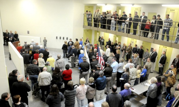Williamson County Jail Dedication and Construction   News