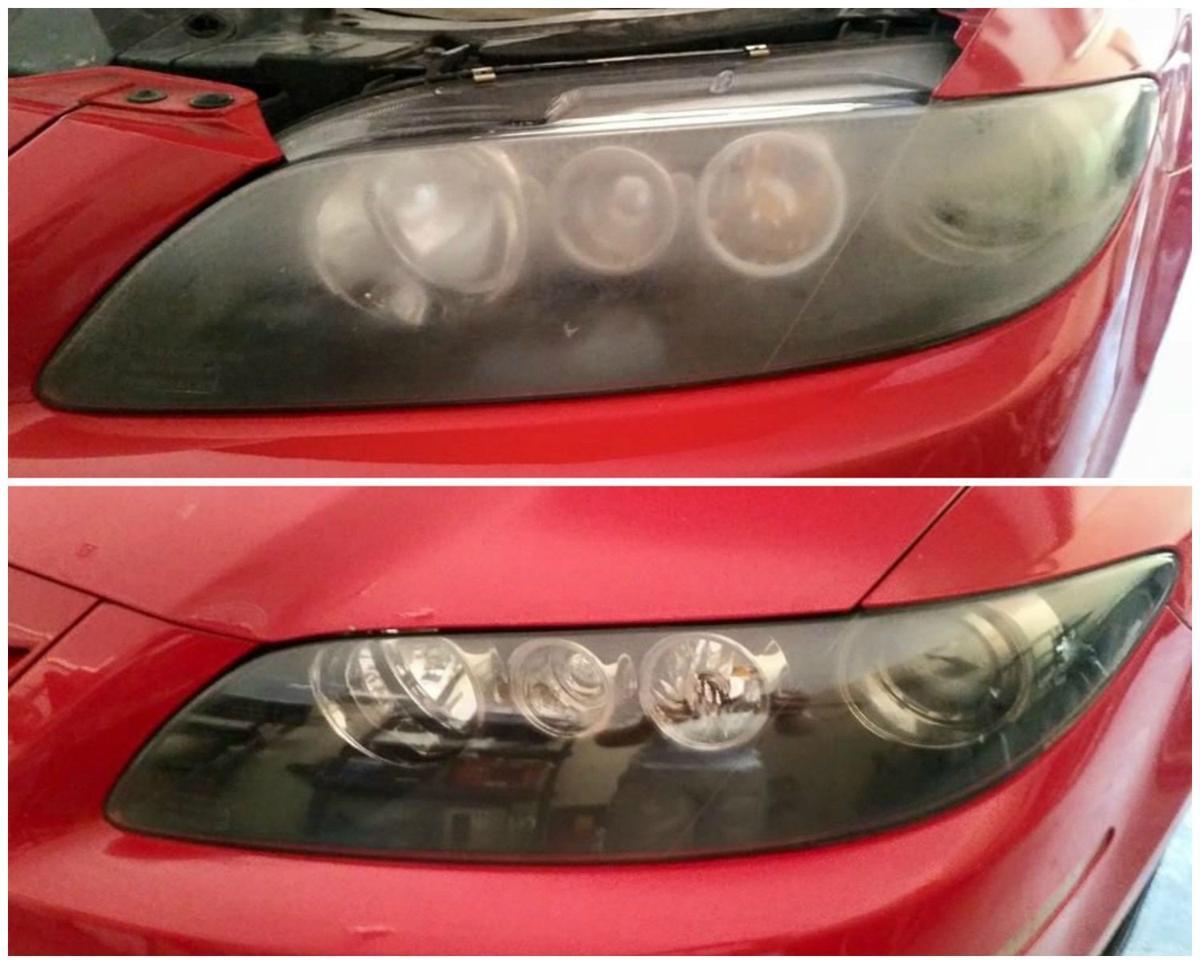 Detail Oriented: Headlight lens restoration