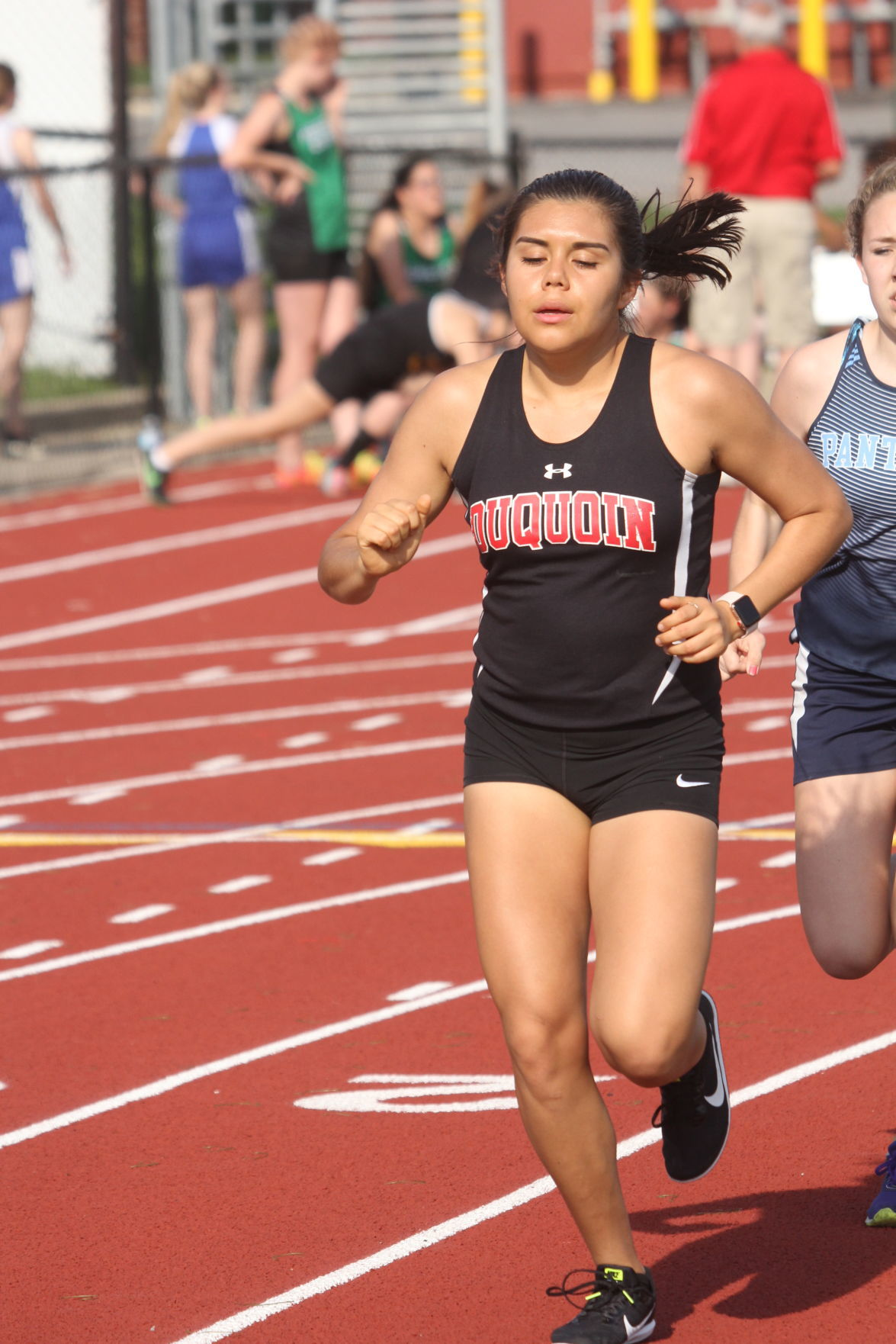 du quoin girls Du quoin — winning championships is getting to be a regular occurrence for the du quoin girls track team.