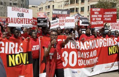 Kenya Nigeria Kidnapped Girls