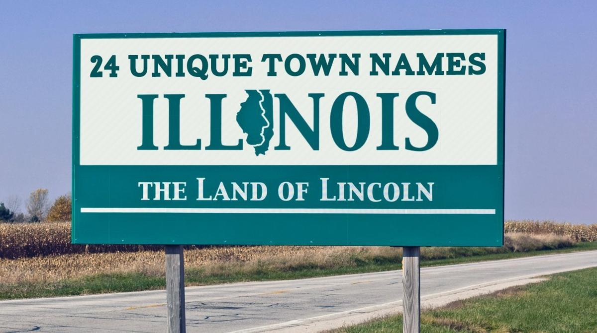 Unique town names in Illinois