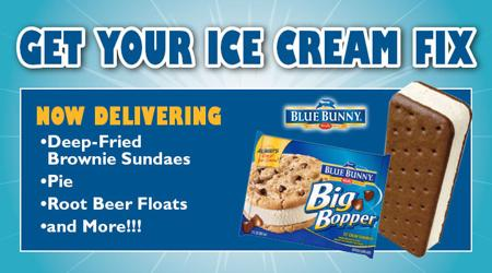 Now Delivering Ice Cream and More! - Please turn images on