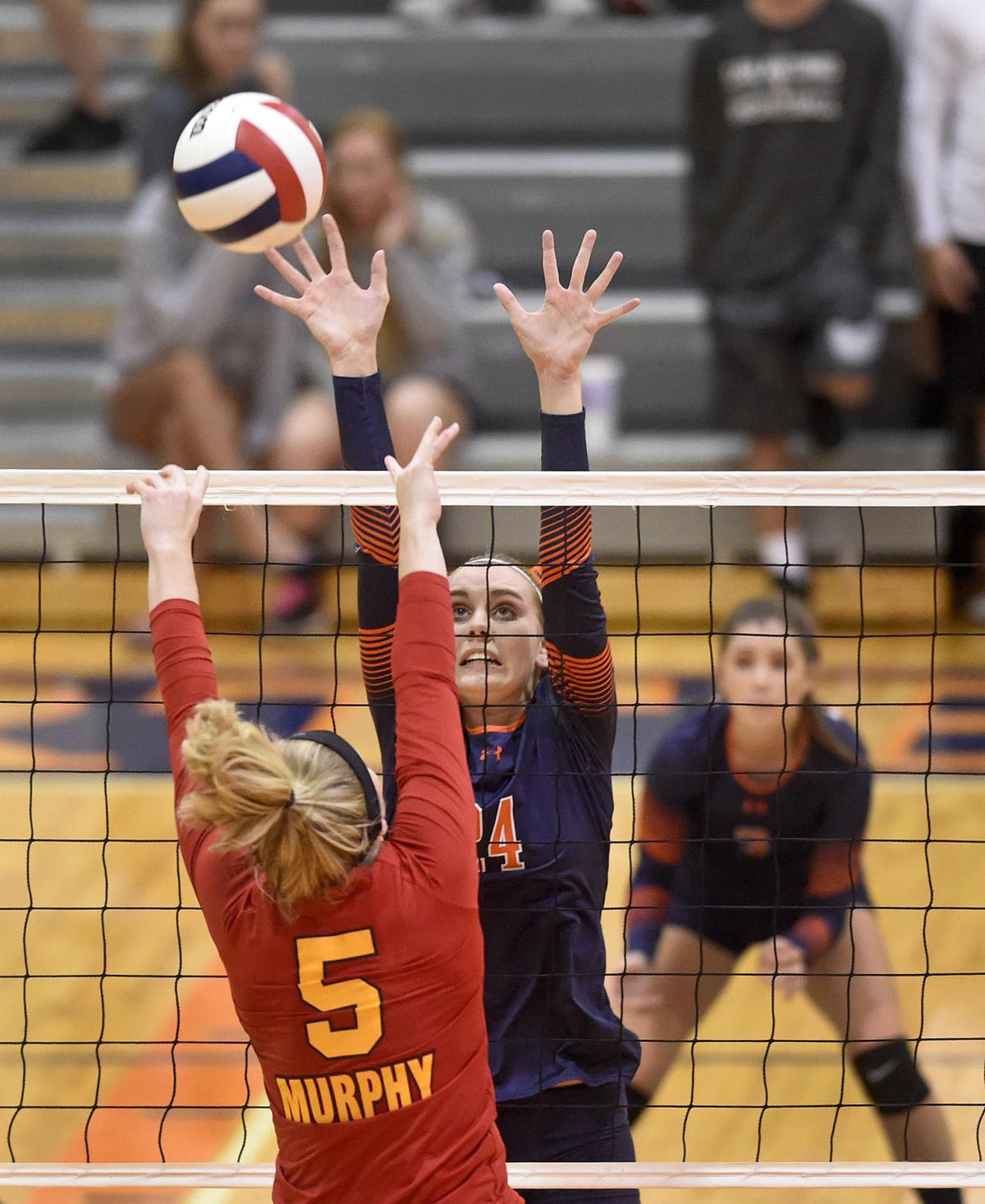 Murphysboro Downs Carterville In Straight Sets