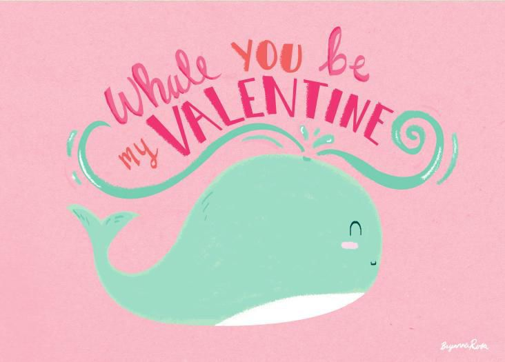 Download PDF Whale You Be My Valentine