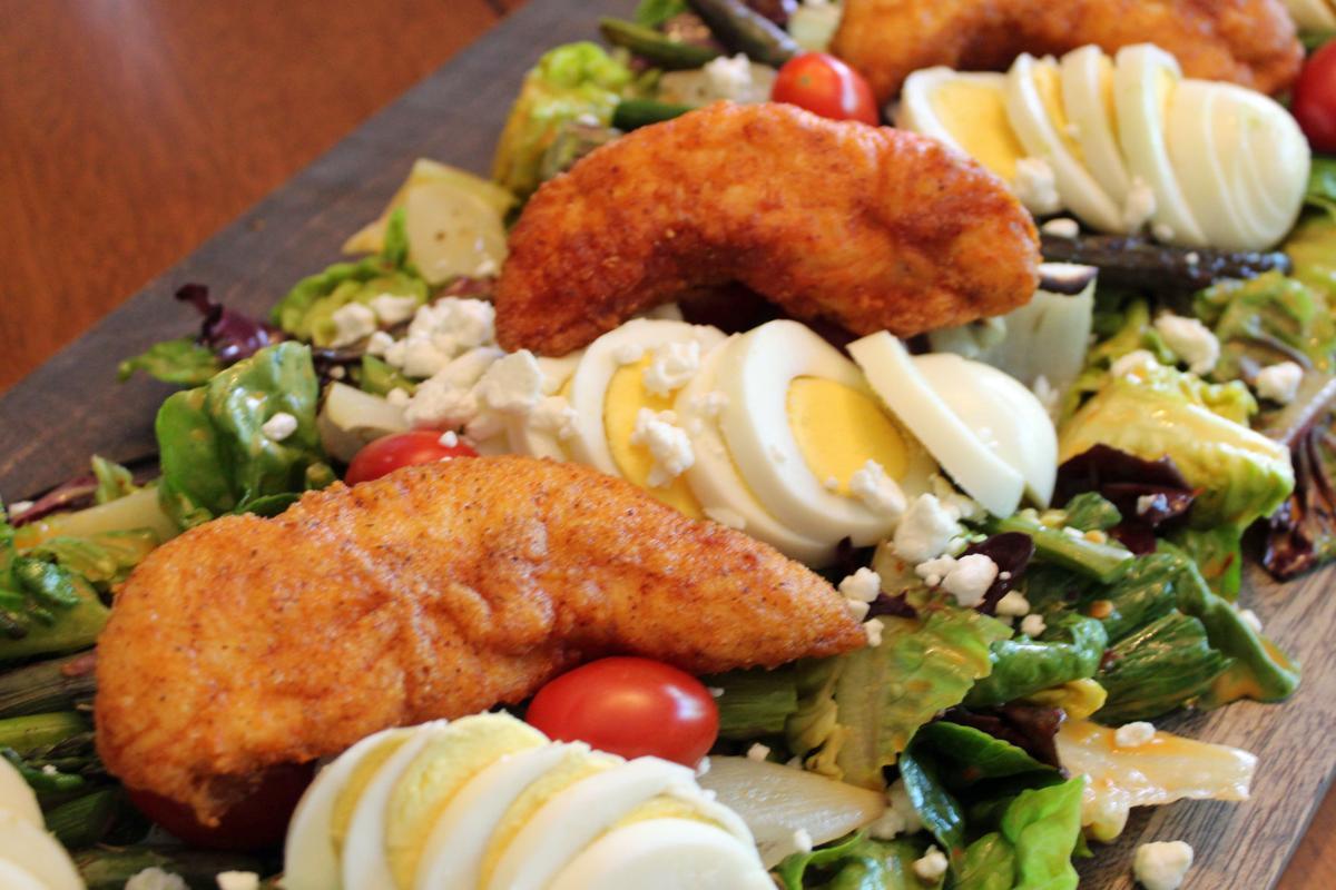 Recipe | Hot Chicken Statement Salad