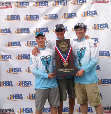 Prep Bass Fishing   Pinckneyville's Kyle Kreger and Dalton Pyatt win state title - Please turn images on