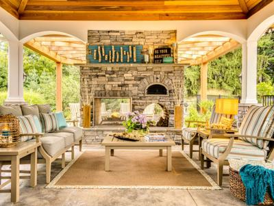 Luxury Lodge Outdoor Space