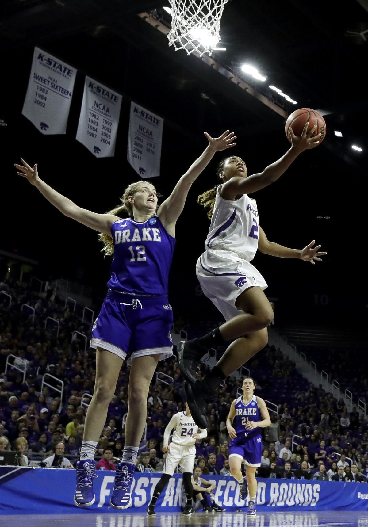 NCAA Drake Kansas St Basketball