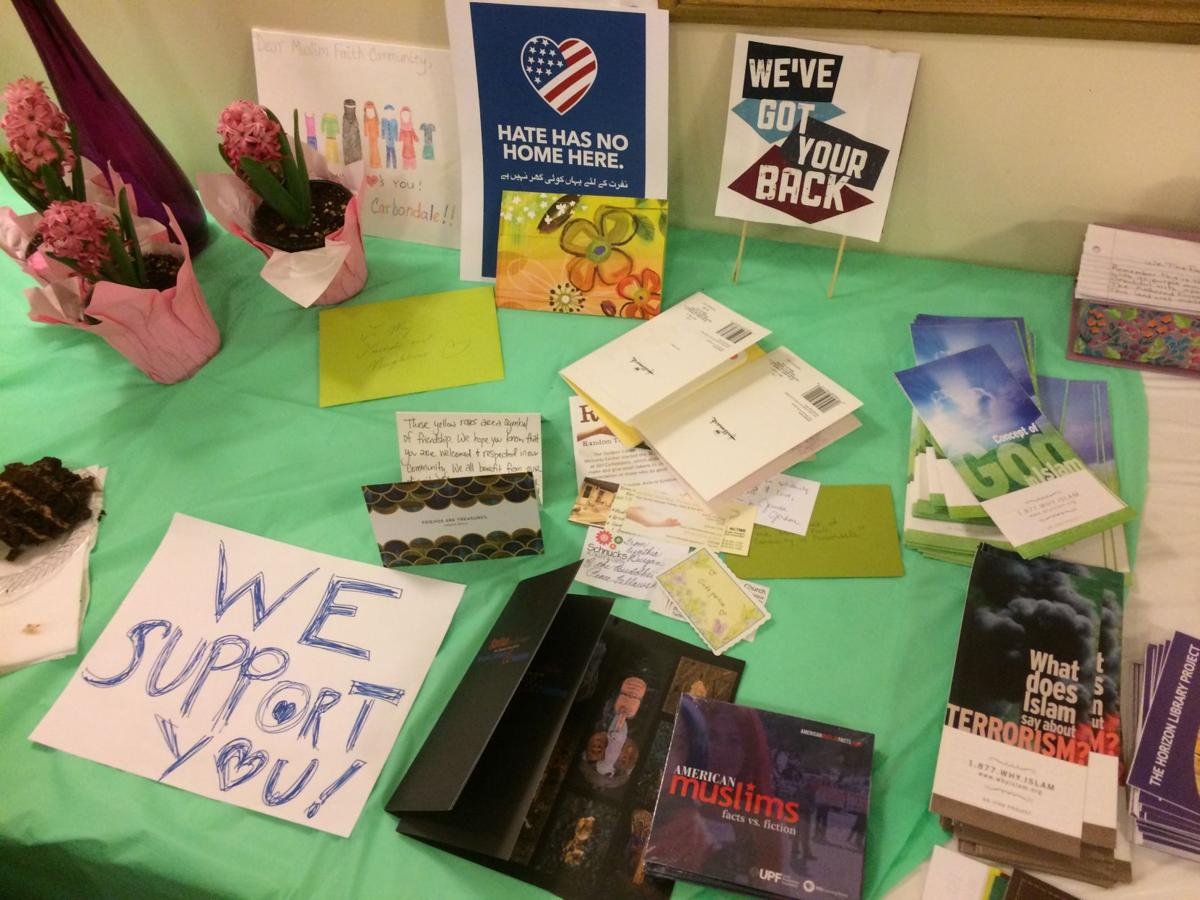 Table display of support