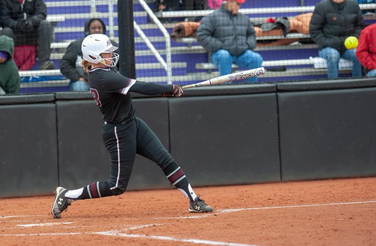 SIU Louisville NCAA softball