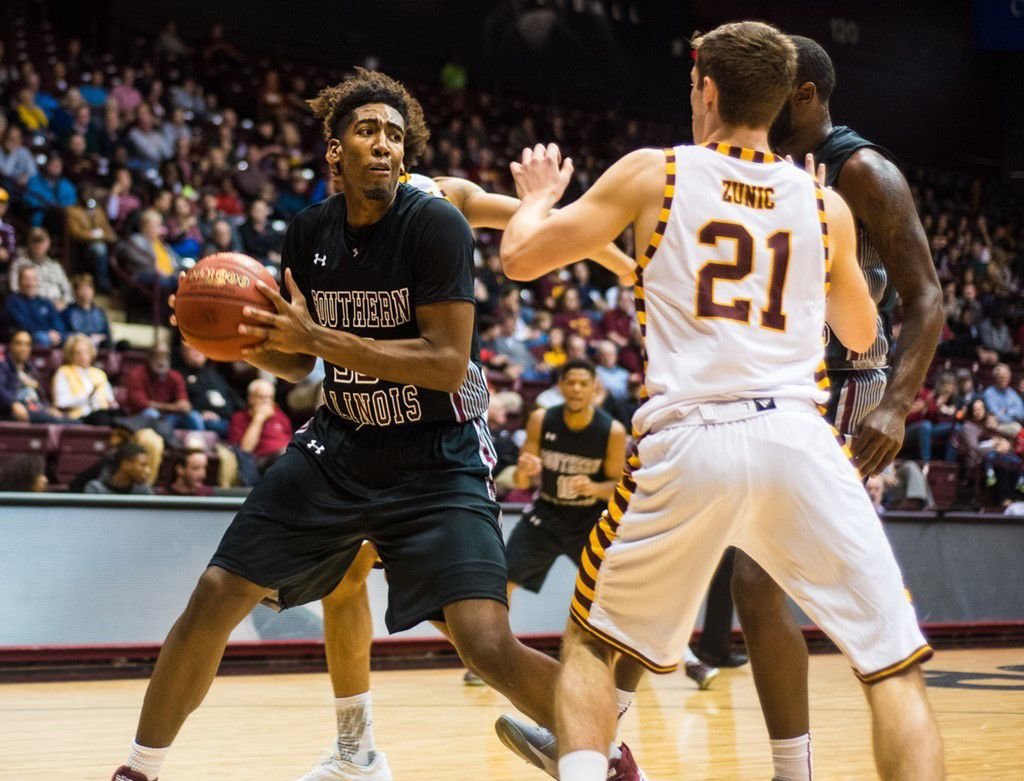 SIU Winthrop men's basketball