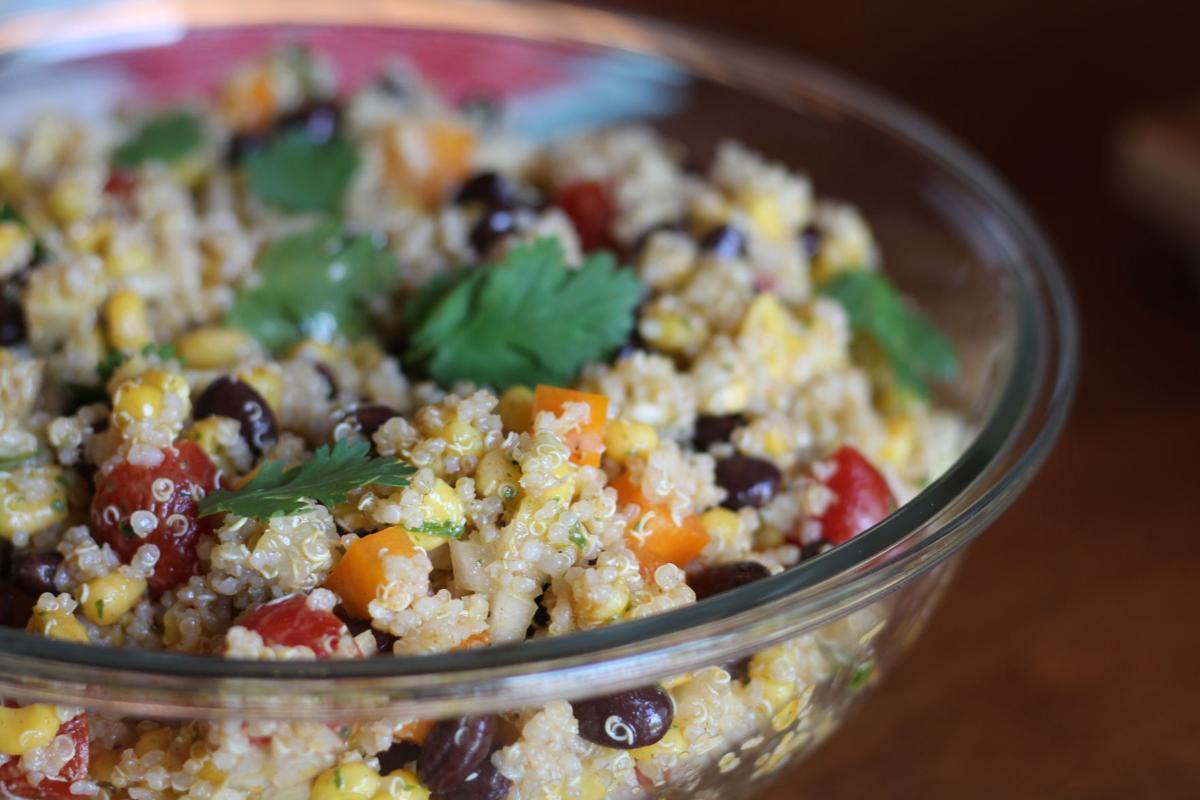 Taste | Fiesta Quinoa Salad with Cilantro Dressing