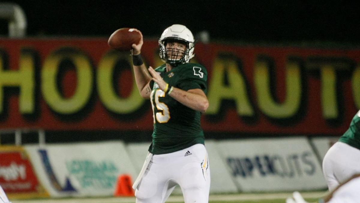 Southeastern Louisiana quarterback Cole Kelley