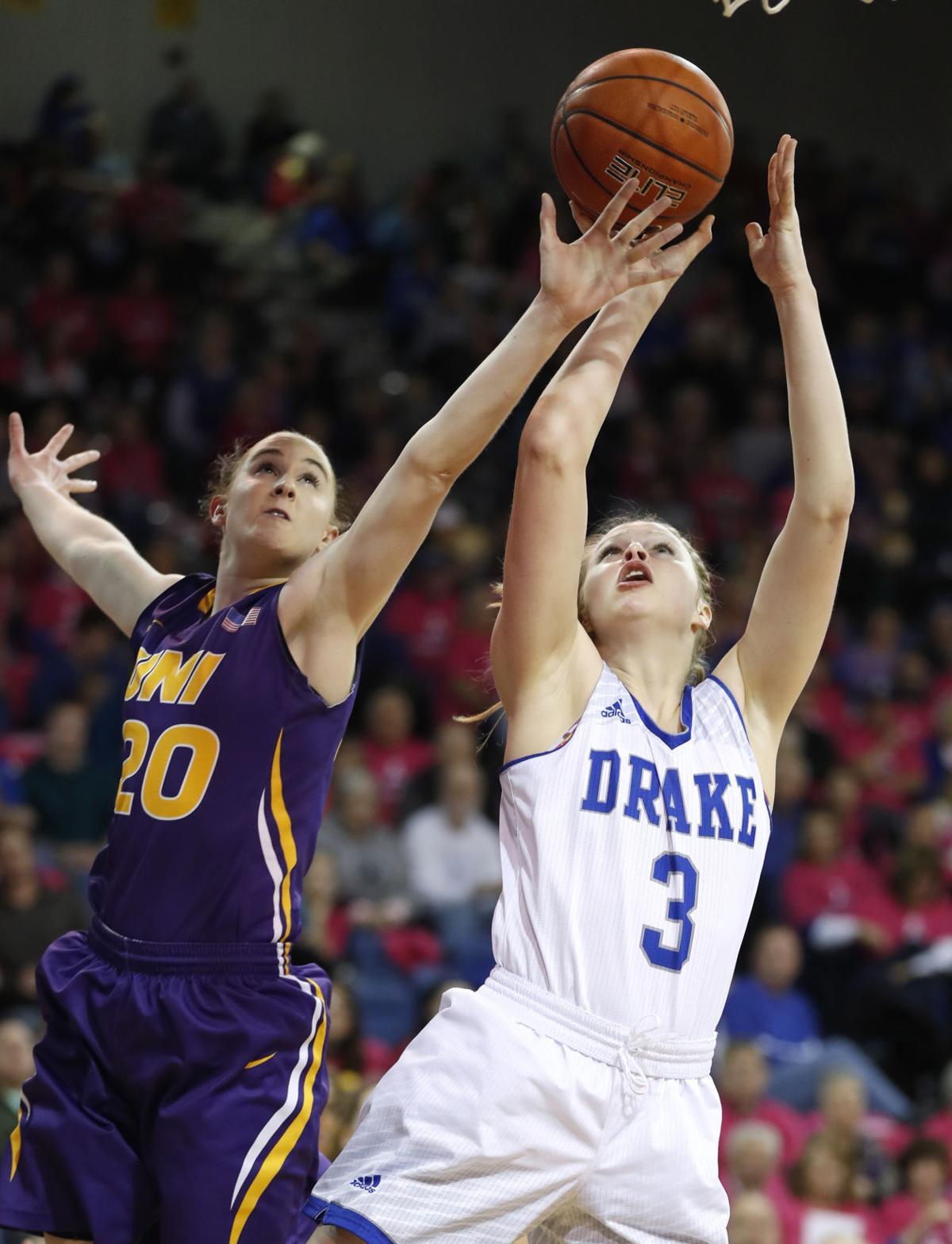 N Iowa Drake Basketball