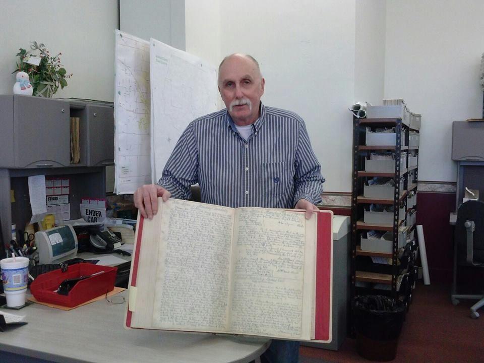 Jackson County historian Mike Jones