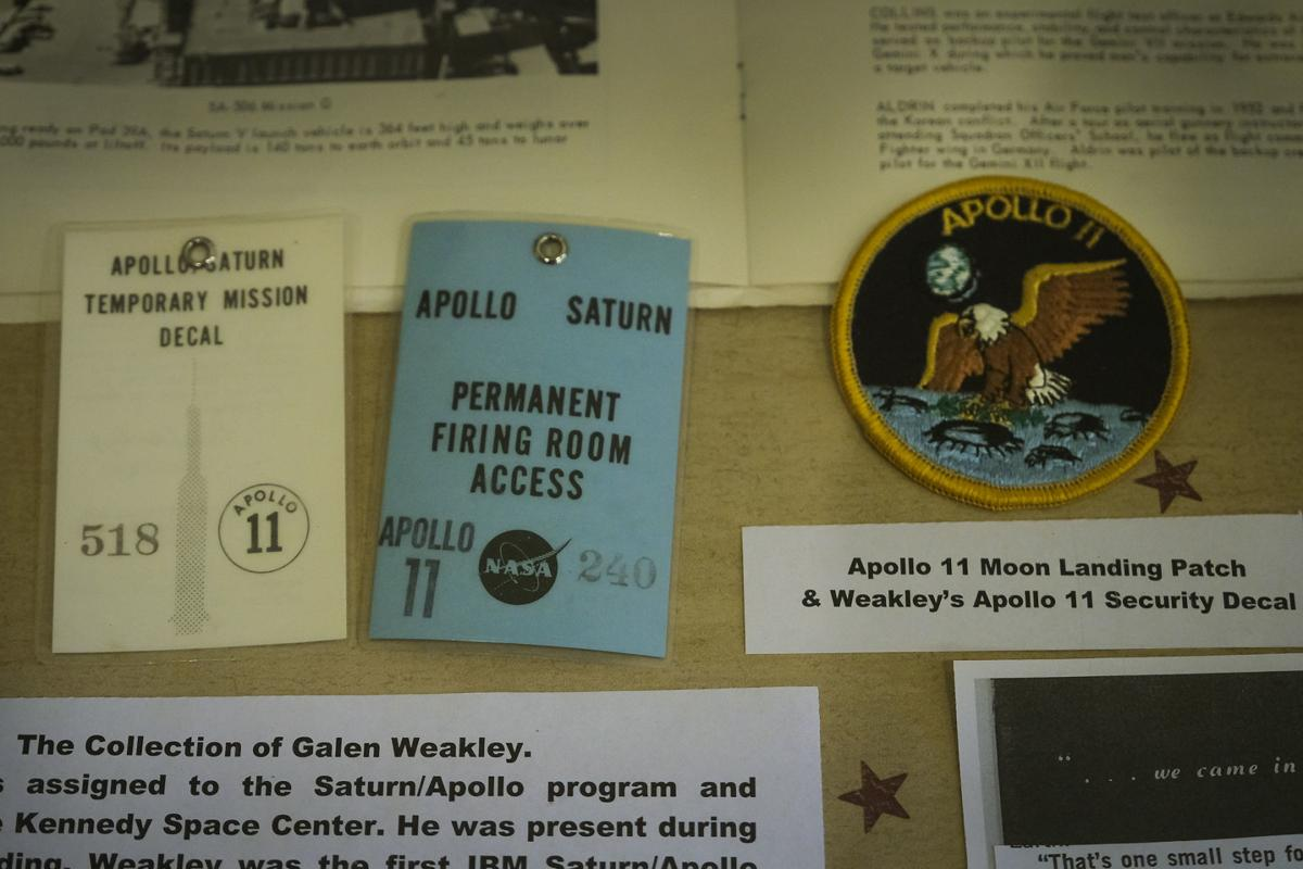 Kennedy Space Center badges and patch