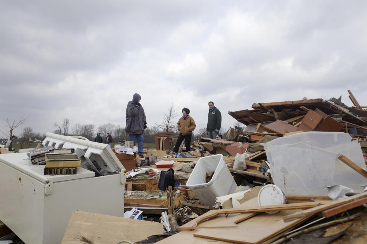 Vergennes tornado damage