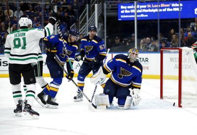 Stars Blues Hockey