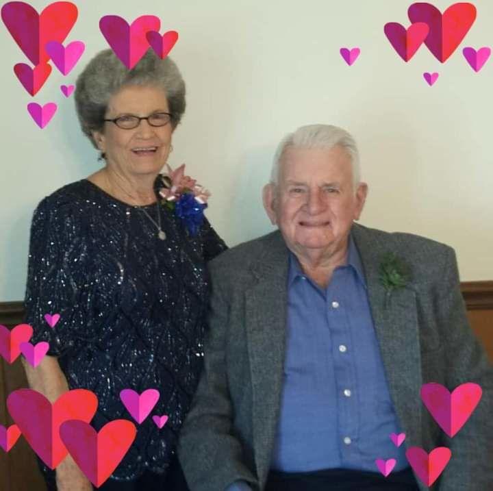 Hazel and Wayne Doss