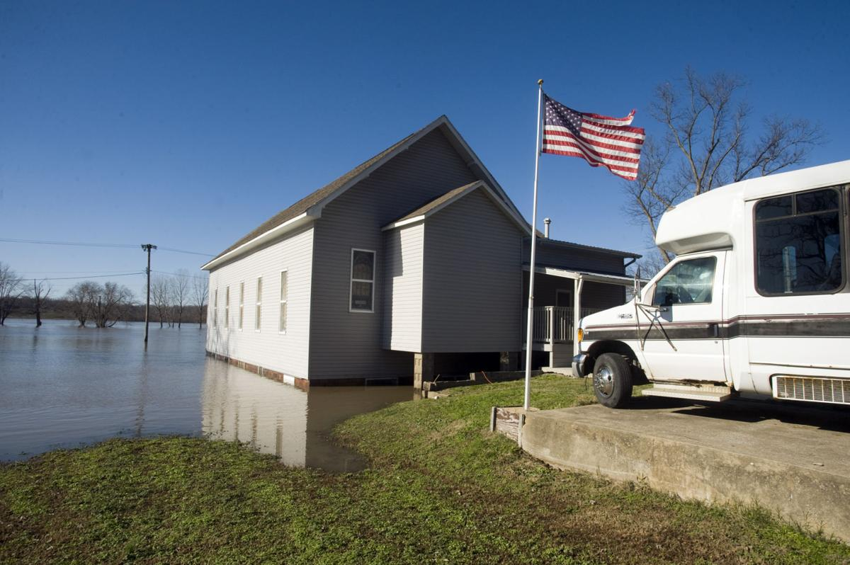 Illinois alexander county thebes - Flood Damage
