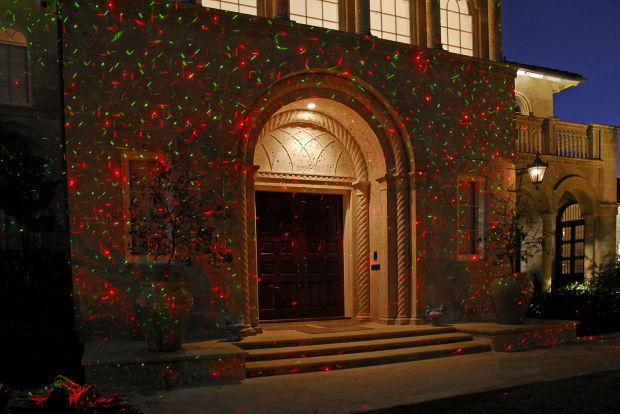 Homes-Holiday Lights