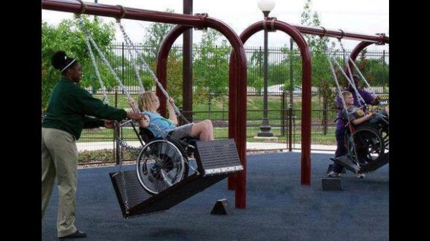 Group Raises Cash For Accessible Playgrounds News