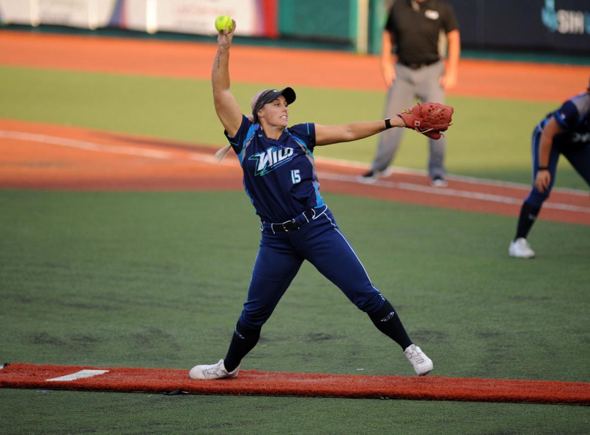 Wild starting pitcher Danielle Lawrie
