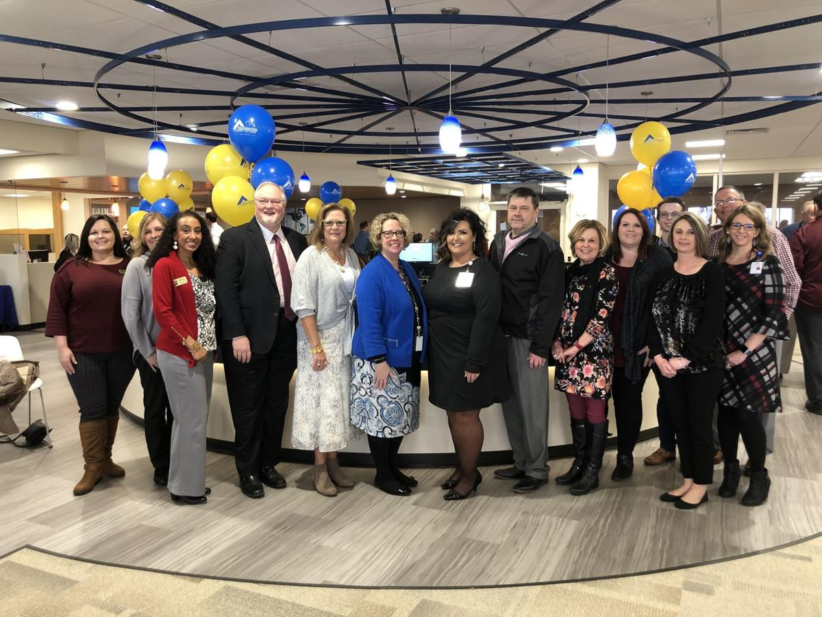 Learning Commons ribboncutting