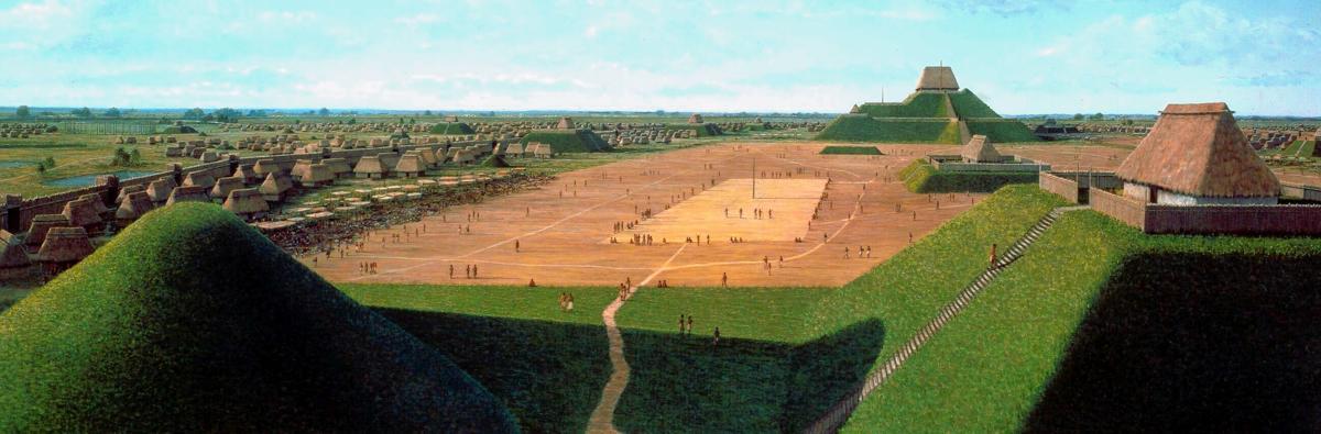 American Indians - Cahokia Mounds