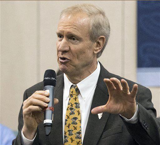 Rauner launches ads blasting Democrats as legislators meet