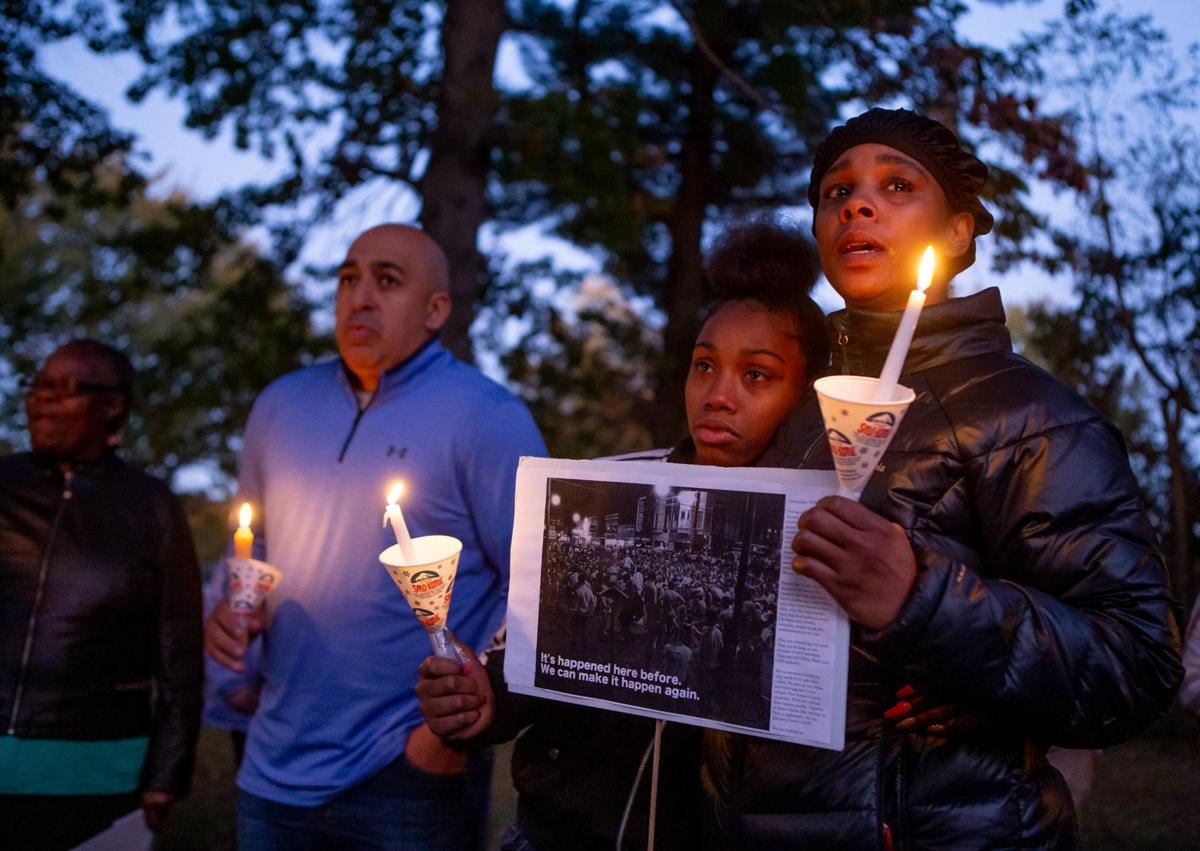 COVER Photo: Candlelight vigil held for 16-year-old shooting victim killed Friday