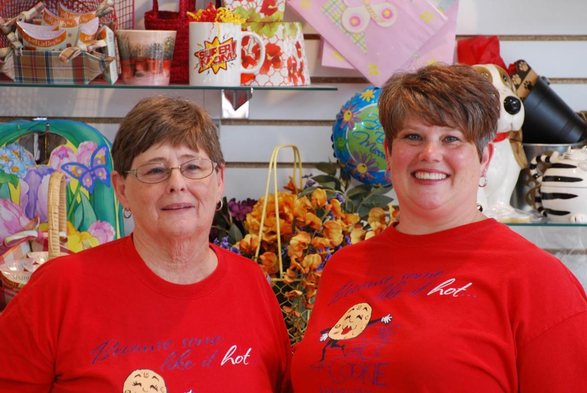 Karen Lavender and her daughter, Sarah Lavender-Brashear, owner of One Hot Cookie