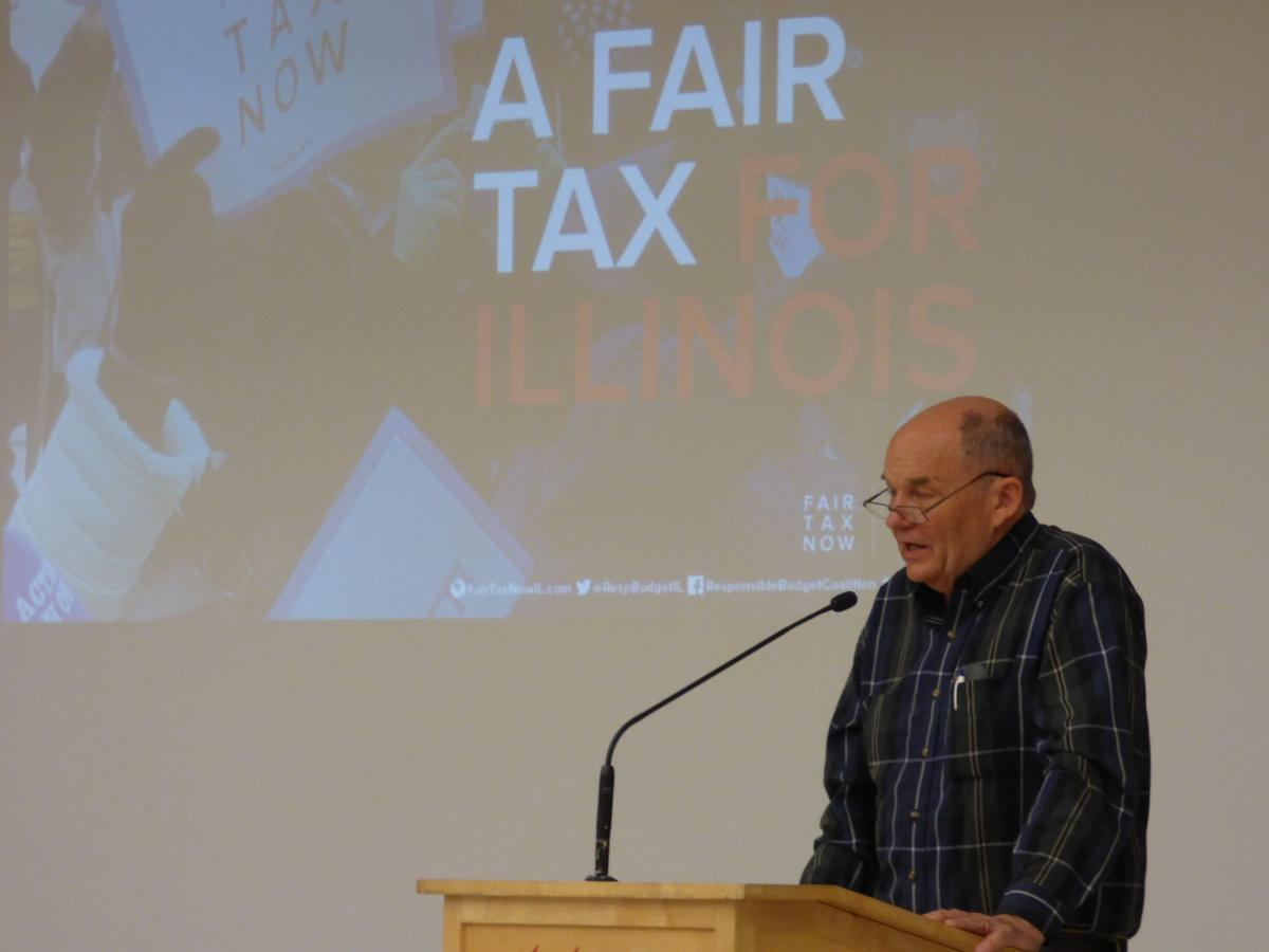 supporters of fair income tax host town hall meeting in