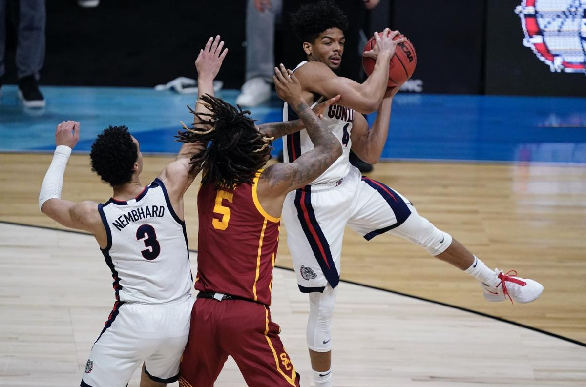 NCAA USC Gonzaga Basketball