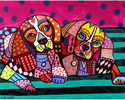 Paint an animal in folk art style at The Varsity Gallery