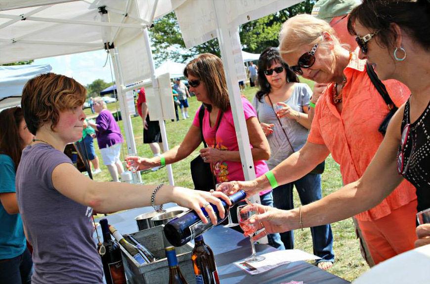 Art & Wine Festival 2015 pheasant hollow wine