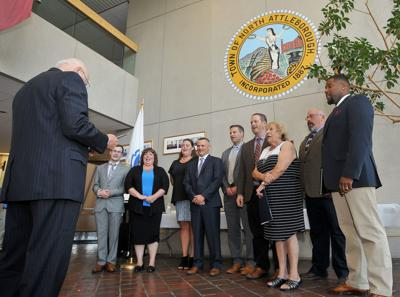NA Town Council Swearing In