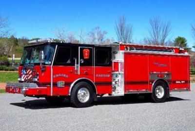 easton fire engine